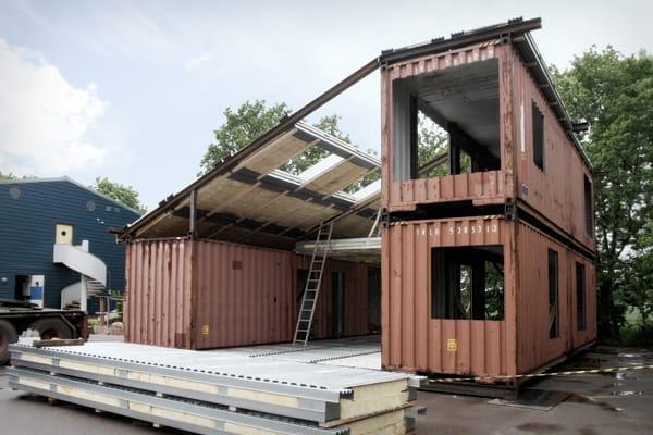Contenedores mar timos y casas - Casas hechas con contenedores precios ...