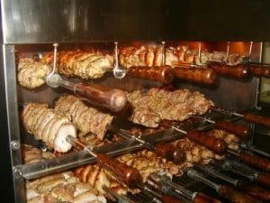 asadores de pollos