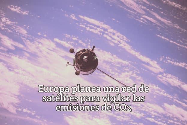 Europa satelites para vigilar CO2