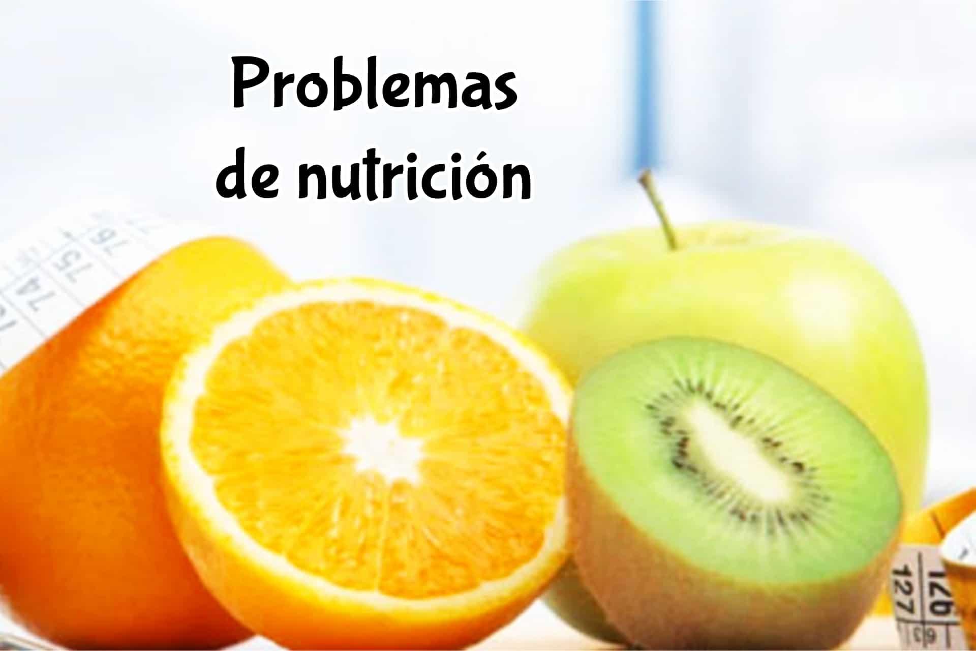 Problemas de nutrición
